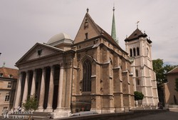 a St. Pierre katedrális Genfben