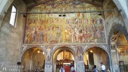 freskók a luganói Santa Maria degli Angioli templomban