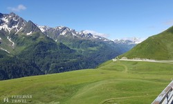 csodás táj a Szent Gotthárd-hágó útján