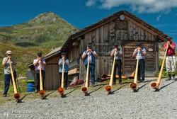 jellegzetes svájci fúvósbanda
