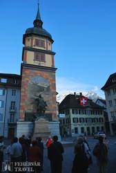 a Tell Vilmos emlékmű Altdorfban