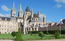 Caen – a Férfiak Apátsága