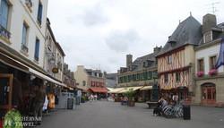 Concarneau – óvárosi részlet