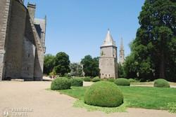 Josselin – a kastélypark