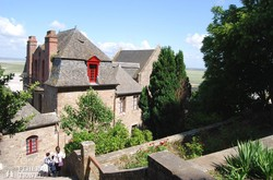 Mont-Saint-Michel – séta a faluban