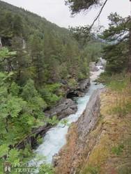 sebes folyó a Gudbrands-völgyben