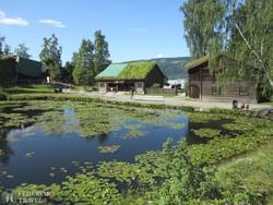 a Maihaugen szabadtéri néprajzi múzeum – részlet