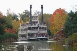 Mark Twain gőzhajója Disneylandben