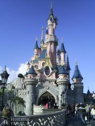 Csipkerózsika kastélya Disneylandben