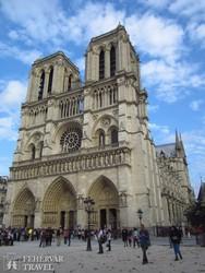 a Notre-Dame Párizsban