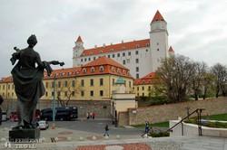 Pozsony jelképe, a vár