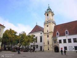 Pozsony: a régi városháza épülete