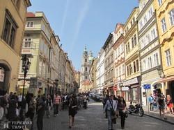 séta Prága Óvárosában