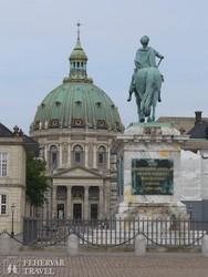 a Márvány-templom Koppenhágában