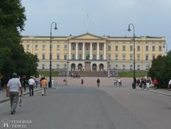 Oslo: a királyi palota épülete