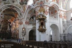 Einsiedeln barokk templombelsője