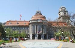 a zentai városháza épülete