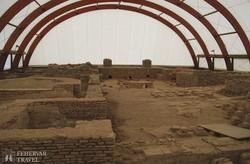 a római kori város maradványai Viminaciumban – részlet