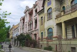 Eszék: a belváros szecessziós palotái – részlet