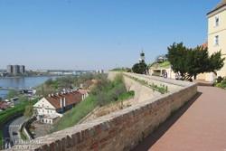 panoráma a Péterváradi erődből