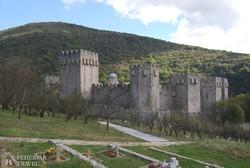 a török veszély idején épült Manasija-erődkolostor
