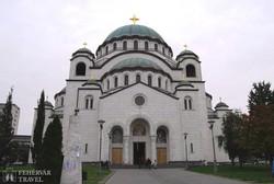 Belgrád: a Szent Száva-katedrális