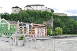 Kufstein vára az Inn völgye fölött