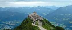 a Berchtesgaden fölé magasodó Sasfészek