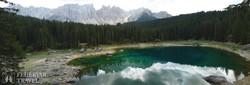 a Dolomitok egy gyöngyszeme: a Karer-tó