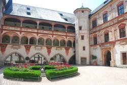 a Tratzbergi kastély reneszánsz udvara