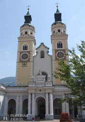 a dóm Brixen főterén