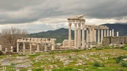 Pergamon ősi romjai
