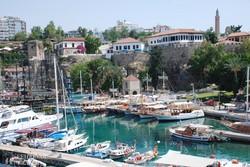 Antalya kikötője – részlet