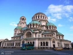 az Alekszander nyevszkij-székesegyház Szófiában