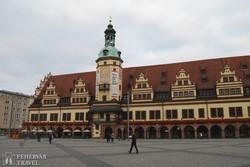 Lipcse – a régi városháza