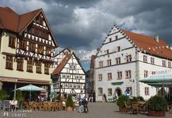 Schmalkalden középkori favázas házai