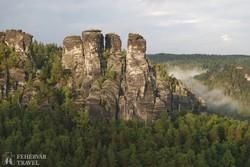 a Bastei sziklavilága – részlet