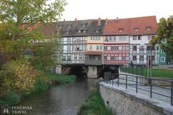 Erfurt – a Krämerbrücke (a Szatócsok hídja)