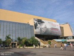 Cannes – a Fesztivál palota épülete