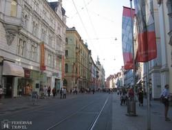 Graz hangulatos belvárosa – részlet