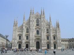 a lenyűgöző milánói dóm
