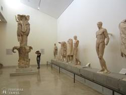 Delphoi – a múzeum egy részlete