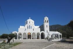 ortodox templom Kamena Vourlában