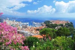 pillantás Monacóra és Monte-Carlóra