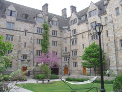 a Yale Egyetem egy történelmi épülete
