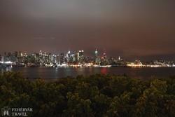 New York esti fényei