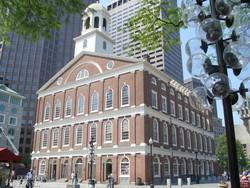 a Faneuil Hall épülete Bostonban