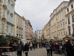 adventi vásár Steyr óvárosában