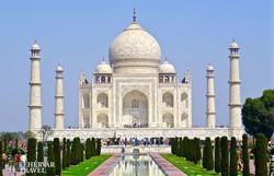 Agra: a Taj Mahal káprázatos épülete