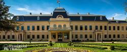 Gyula – az Almásy-kastély főhomlokzata